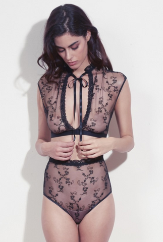 Cadolle All Lace Two Piece Bolero Set (In stock, 3 day delivery)