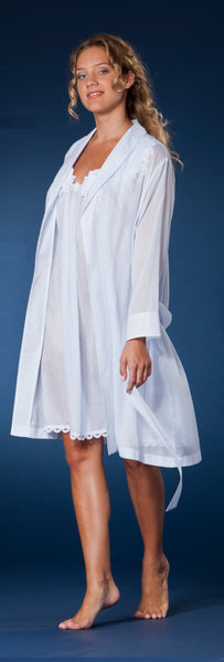 Celeste 2 Shawl Collar Short Robe