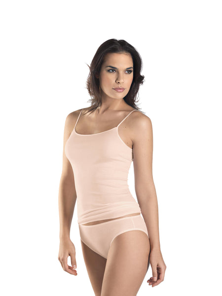 518b1693af Hanro Cotton Seamless Spaghetti Strap Vest Top (07 1600) – Susan Hunter  Lingerie