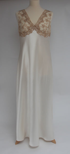 Selite Pure Silk Full Length Nightgown 243812