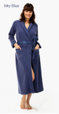Tavernier Soft Full Length Fleece Dressing Gown (In stock, 3 day delivery)