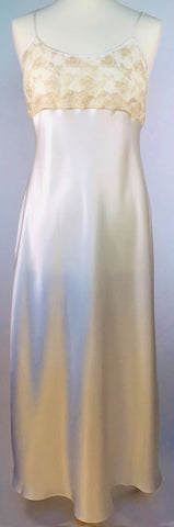 Selite Pure Silk Full Length Nightgown 243811