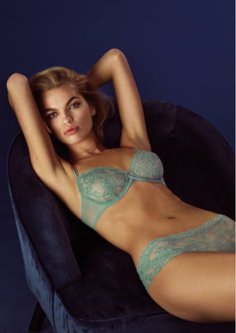 Andres Sarda TIGER full cup all lace bra 3309610/1 (In stock, 3 day delivery)