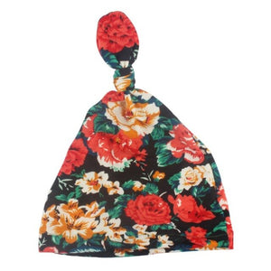 """The Floral Fairy""      Organic Cotton Floral Print Hat"