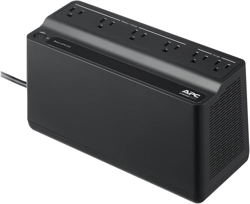 APC UPS BE425M, UPS Battery Backup Surge Protector - Canine P4 Dot Com