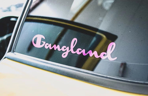 Gangland Decals
