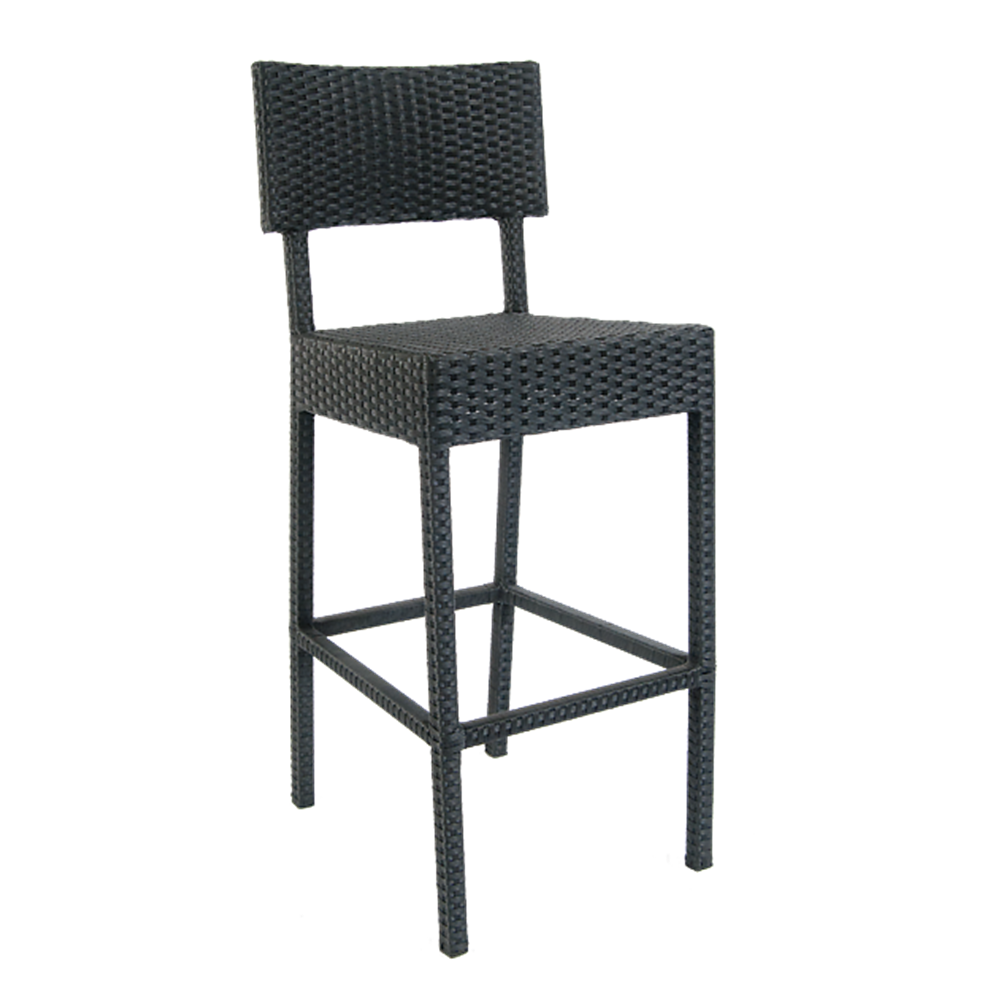 Rattan / Wicker Bar Stools