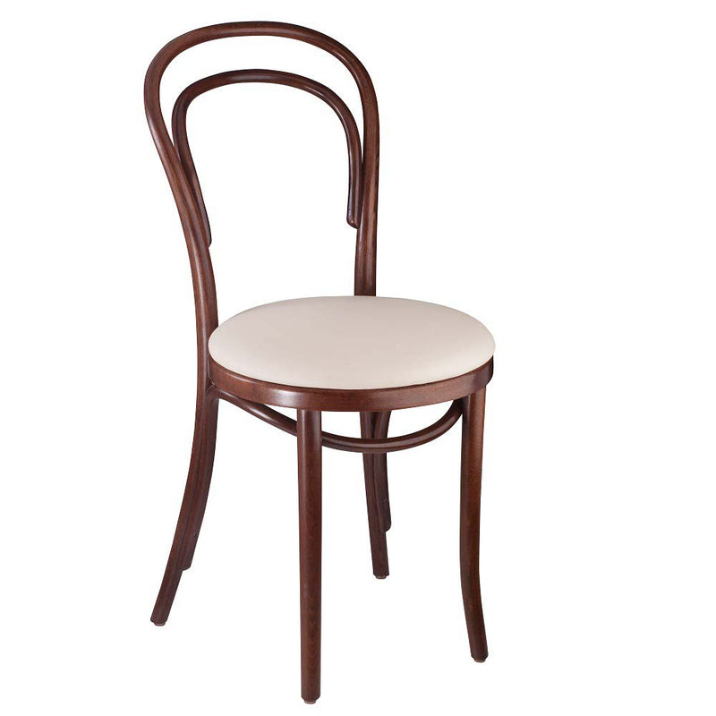 Classic Solid Beech Wood Bentwood Michael Thonet Indoor Restaurant Side Chair - Moda Seating Corp