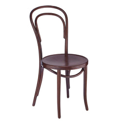 Classic Solid Beech Wood Bentwood Michael Thonet Indoor Restaurant Side Chair