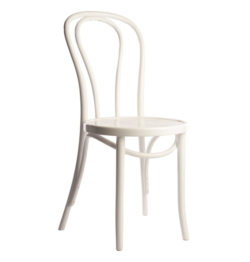 Classic Solid Beech Wood Bentwood Hairpin Indoor Restaurant Side Chair - Moda Seating Corp