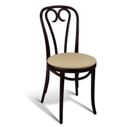 Solid Beech Wood Bentwood Sweetheart Indoor Restaurant Side Chair