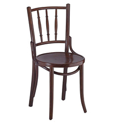 Vintage Inspired Bentwood Solid Beech Wood Indoor Restaurant Side Chair