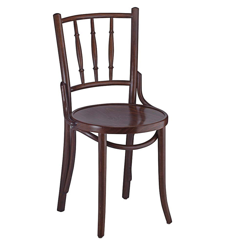 Vintage Inspired Bentwood Solid Beech Wood Indoor Restaurant Side Chair - Moda Seating Corp