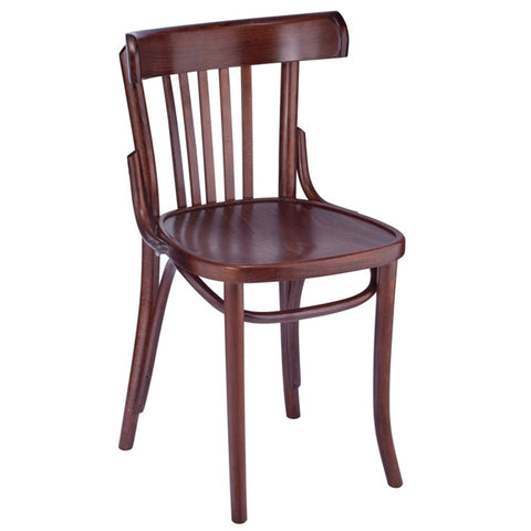 Canyon Bentwood Solid Beech Wood Indoor Restaurant Side Chair - Moda Seating Corp