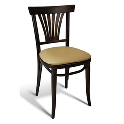 Tulip Solid Beech Wood Indoor Restaurant Side Chair