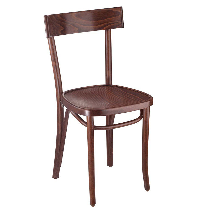Dainty Solid Beech Bentwood Indoor Restaurant Side Chair - Moda Seating Corp