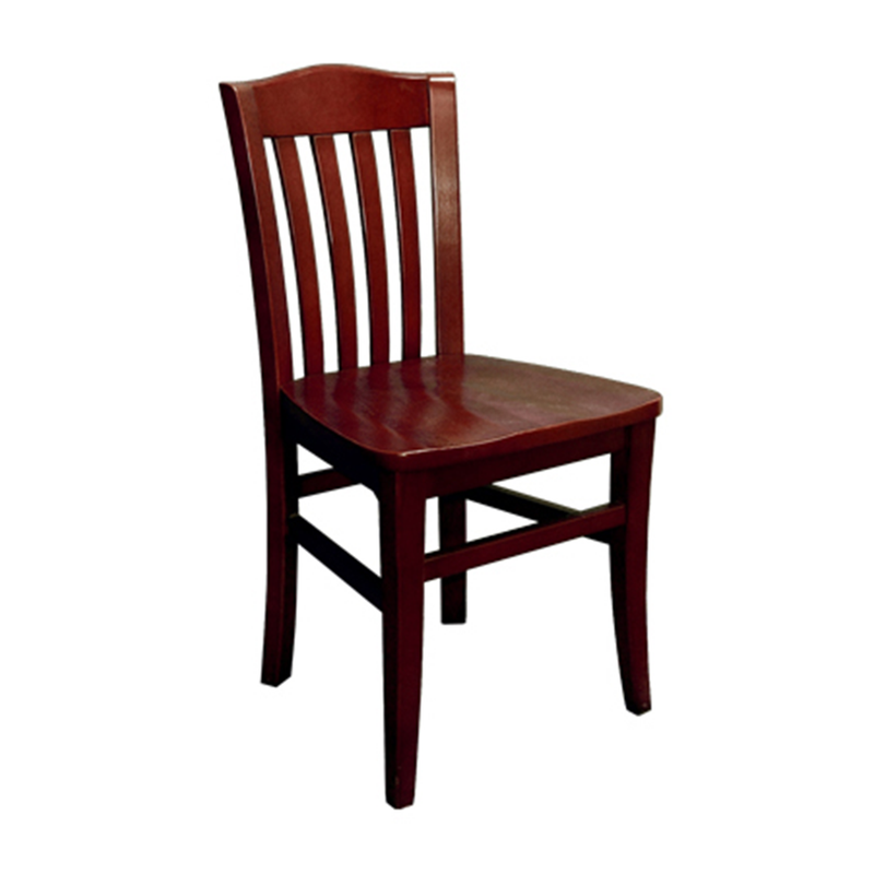 Solid Beech Wood Traditional Indoor Restaurant School House Chair - Moda Seating Corp