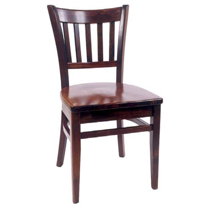 Traditional Solid Beech Wood Restaurant Dining Chair - Moda Seating Corp