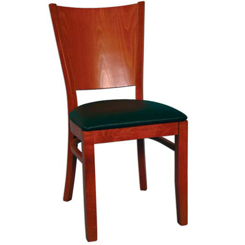 Urban Solid Beech Wood Restaurant Side Chair