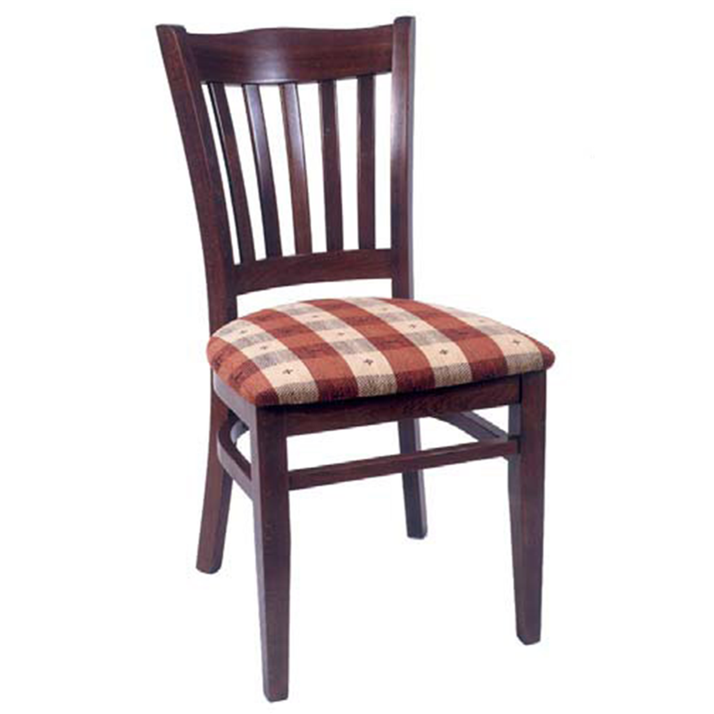 Coronation Solid Beech Wood Indoor Restaurant Side Chair