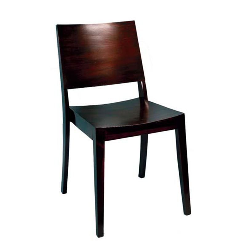 Wellington Modern Beech Wood Indoor Restaurant Side Chair - Moda Seating Corp