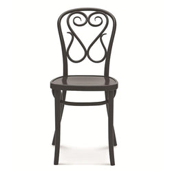 Bentwood Swan Solid Beech Wood Indoor Restaurant Side Chair