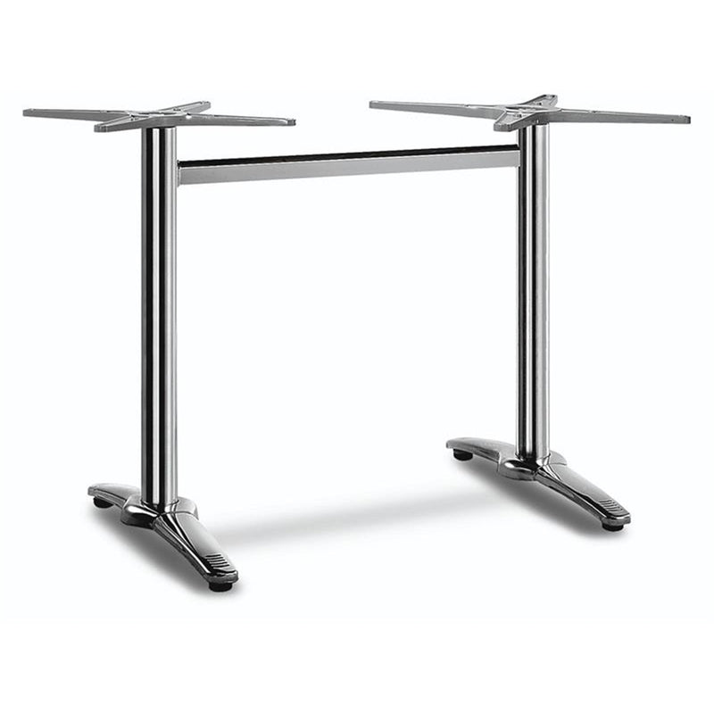"23"" x 30"" 3 Piece Indoor & Outdoor Aluminum Restaurant Table Base - Moda Seating Corp"