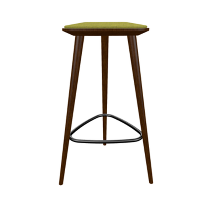Solid Beech Wood Backless Restaurant Bar Stool - Moda Seating Corp
