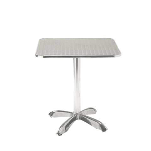 "27.5"" X27.5"" Indoor Aluminum Restaurant Table 3030-DQAL - Moda Seating Corp"
