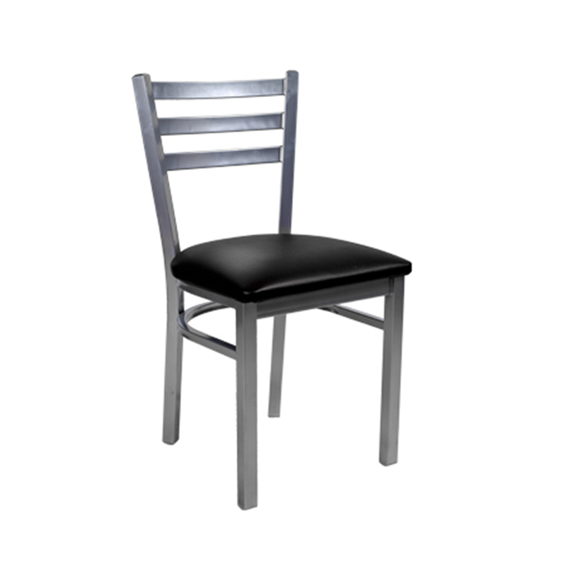Three Slat Ladder Back Indoor Metal Restaurant Chair - Moda Seating Corp
