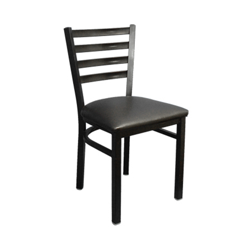 Metal Ladder Back Indoor Restaurant Chair 135-DQSM - Moda Seating Corp