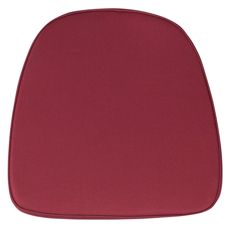 Soft Burgundy Fabric Chiavari Chair Cushion - Moda Seating Corp