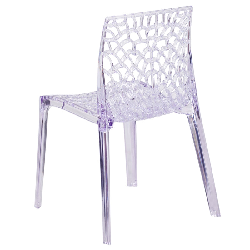 Vision Series Transparent Stacking Side Chair - Moda Seating Corp