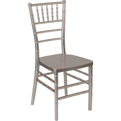 HERCULES PREMIUM Series Pewter Resin Stacking Chiavari Chair