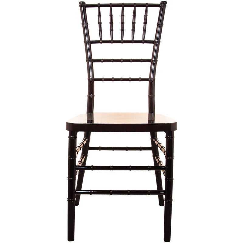 Advantage Mahogany Resin Chiavari Chair