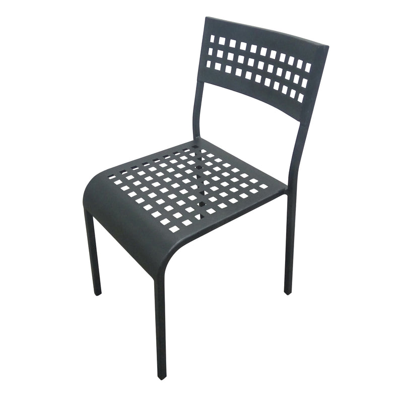 Aluminum 5401 Aluminum Grid Chair Stacking Restaurant Arm Chair - Moda Seating Corp
