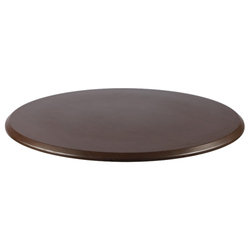 "WENGE 24"" Round Indoor/ Outdoor Weather Resistant Restaurant Table Top"
