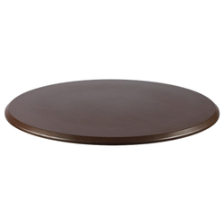 "WENGE 28"" Round Indoor/ Outdoor Weather Resistant Restaurant Table Top"