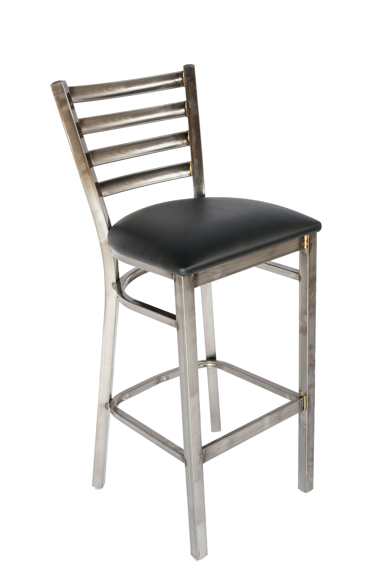 White Horse Series Barstool Clear Coat - Moda Seating Corp