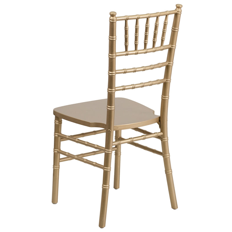 HERCULES Series Gold Wood Chiavari Chair - Moda Seating Corp