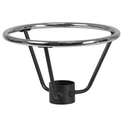 "Bar Height Table Base Foot Ring with 4.25"" Column Ring - 19.5"" Diameter"