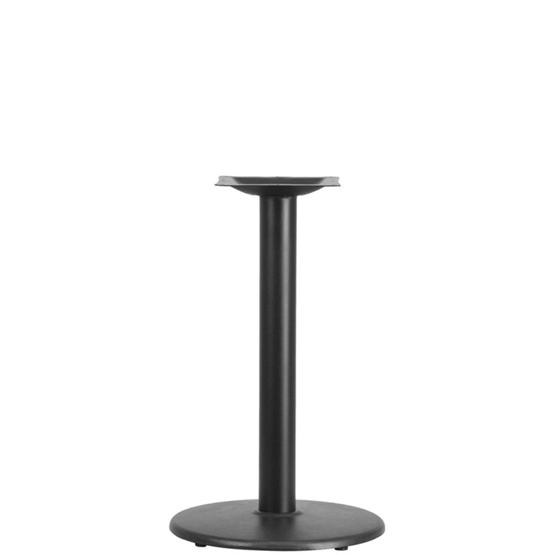 "18"" Round Restaurant Table Base with 3"" Dia. Table Height Column - Moda Seating Corp"