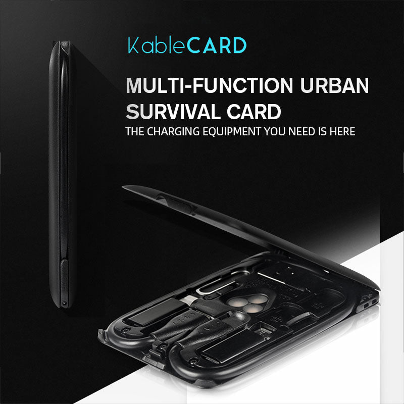 Multi-Function Urban Survival Card
