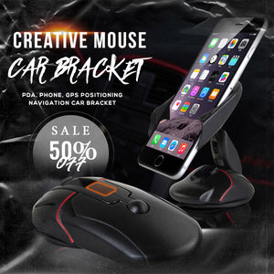 Creative Mouse Car Bracket(BUY 1 GET 1 FREE)