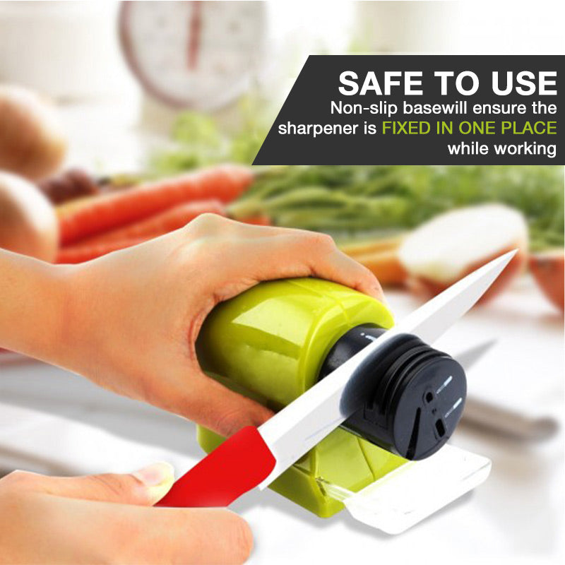 Cordless Motorized Blade Sharpener