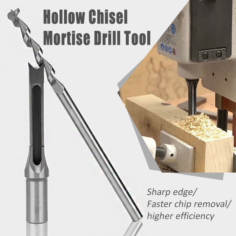 Hollow Chisel Mortise Drill Tool (1SET)