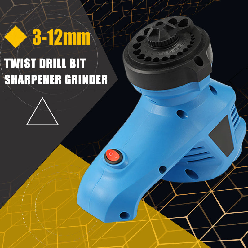 Twist Drill Bit Sharpener Grinder 3-12mm