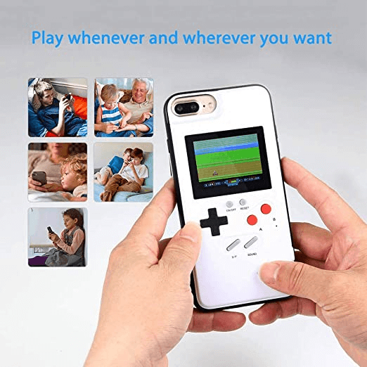 Retro 3D Game Phone Case