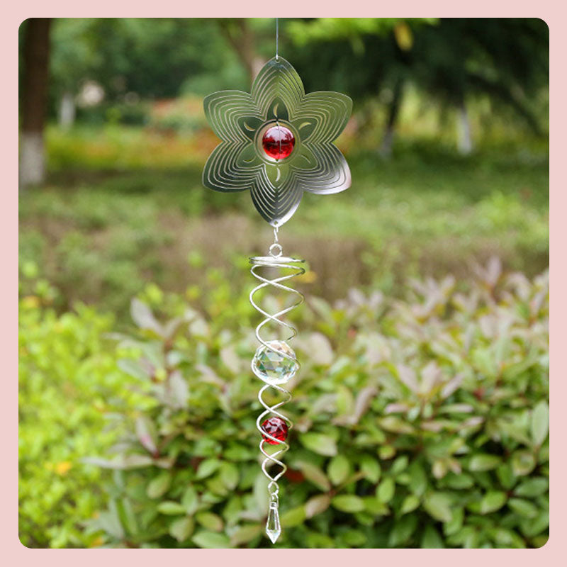 3D Rotating Wind Chime