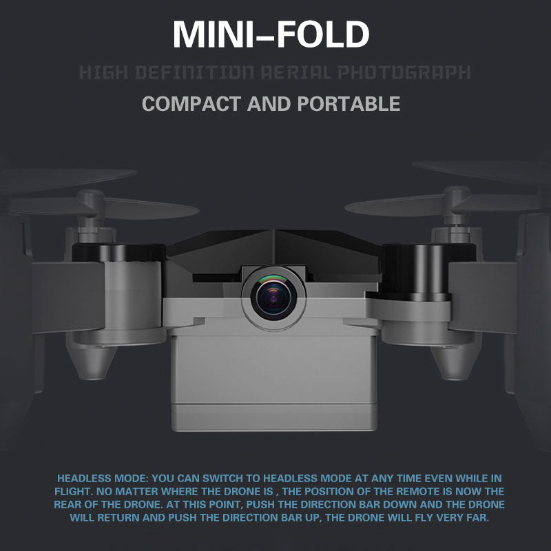Mini Folding Unmanned Aerial Vehicle